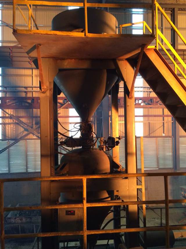 自耗式氧枪自动喷碳粉系统2