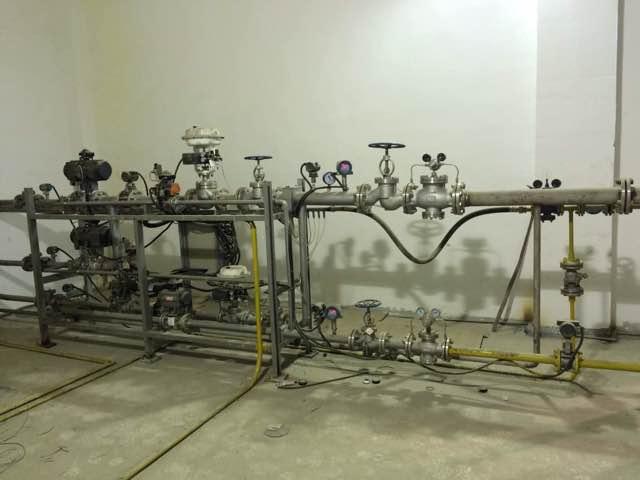 自耗式氧枪阀站系统1